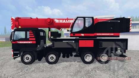 MAN TGX LFM1060 for Farming Simulator 2015