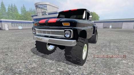 Chevrolet C10 1966 v1.1 for Farming Simulator 2015