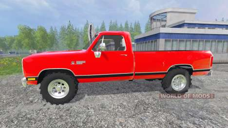 Dodge D-250 for Farming Simulator 2015