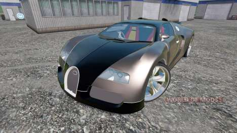 bugatti veyron v2 0 for farming simulator 2015. Black Bedroom Furniture Sets. Home Design Ideas