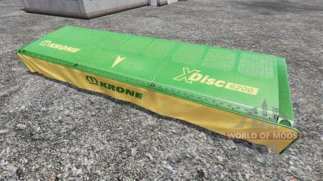 Krone XDisc 6200 for Farming Simulator 2015