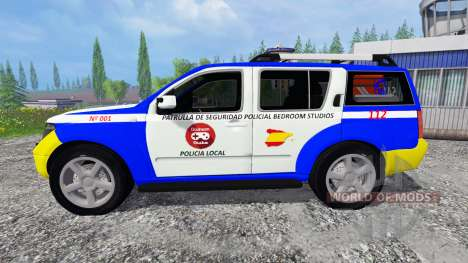 Nissan Pathfinder Police for Farming Simulator 2015