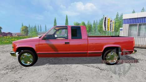 Chevrolet Silverado 1996 for Farming Simulator 2015