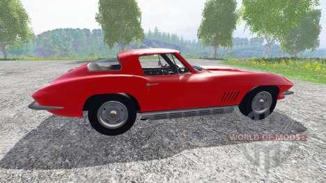 Chevrolet Corvette 1967 v1.1 for Farming Simulator 2015