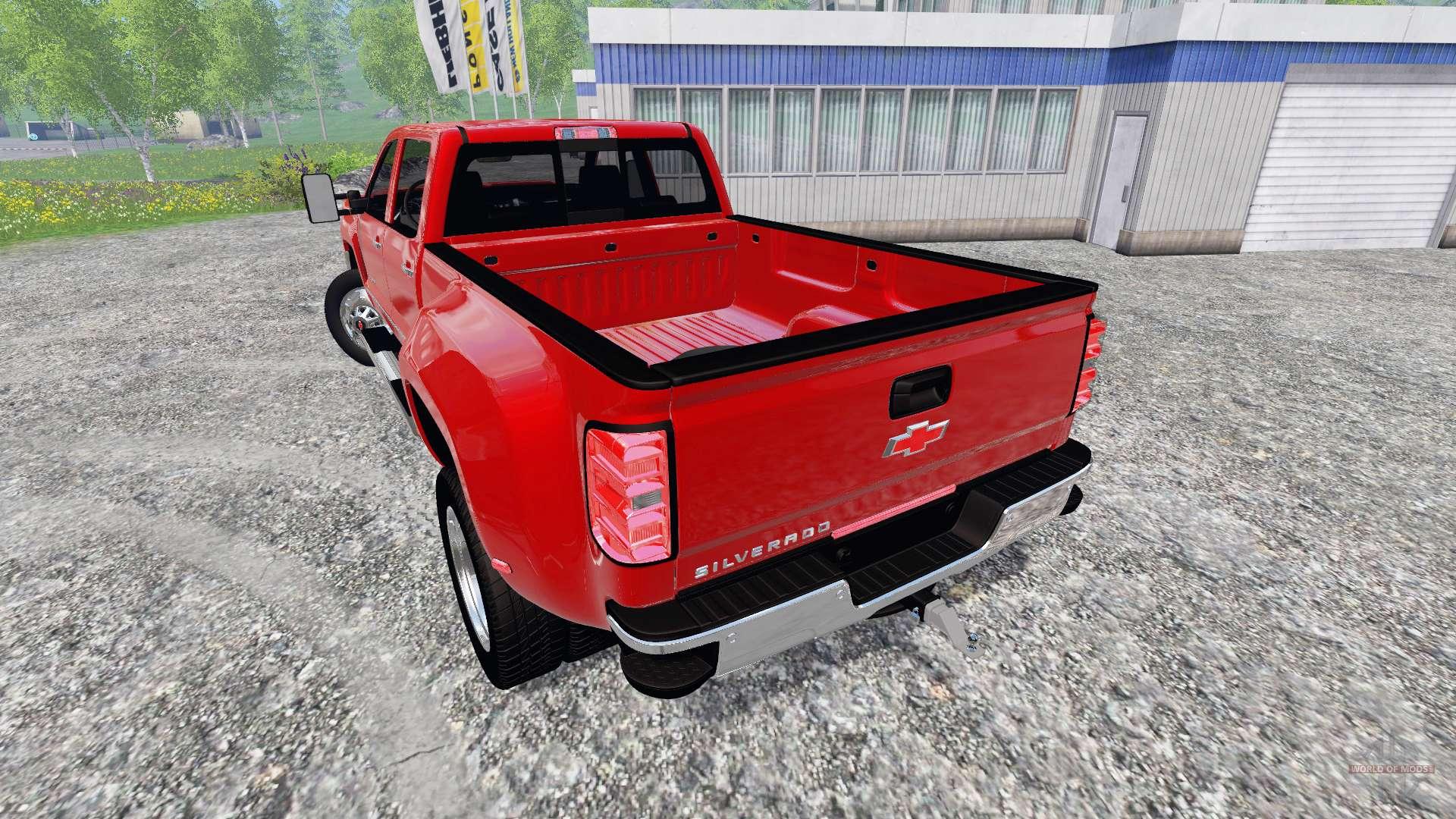 Chevrolet silverado 3500 pack for farming simulator 2015