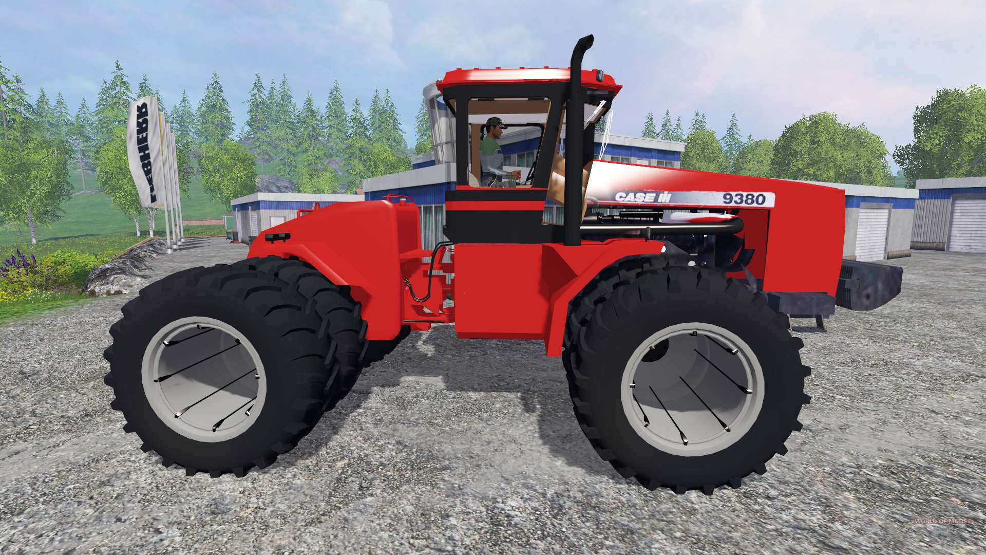 case ih 9380 for farming simulator 2015 rh worldofmods com Case 9380 Tractor Case IH 9380 Dimensions