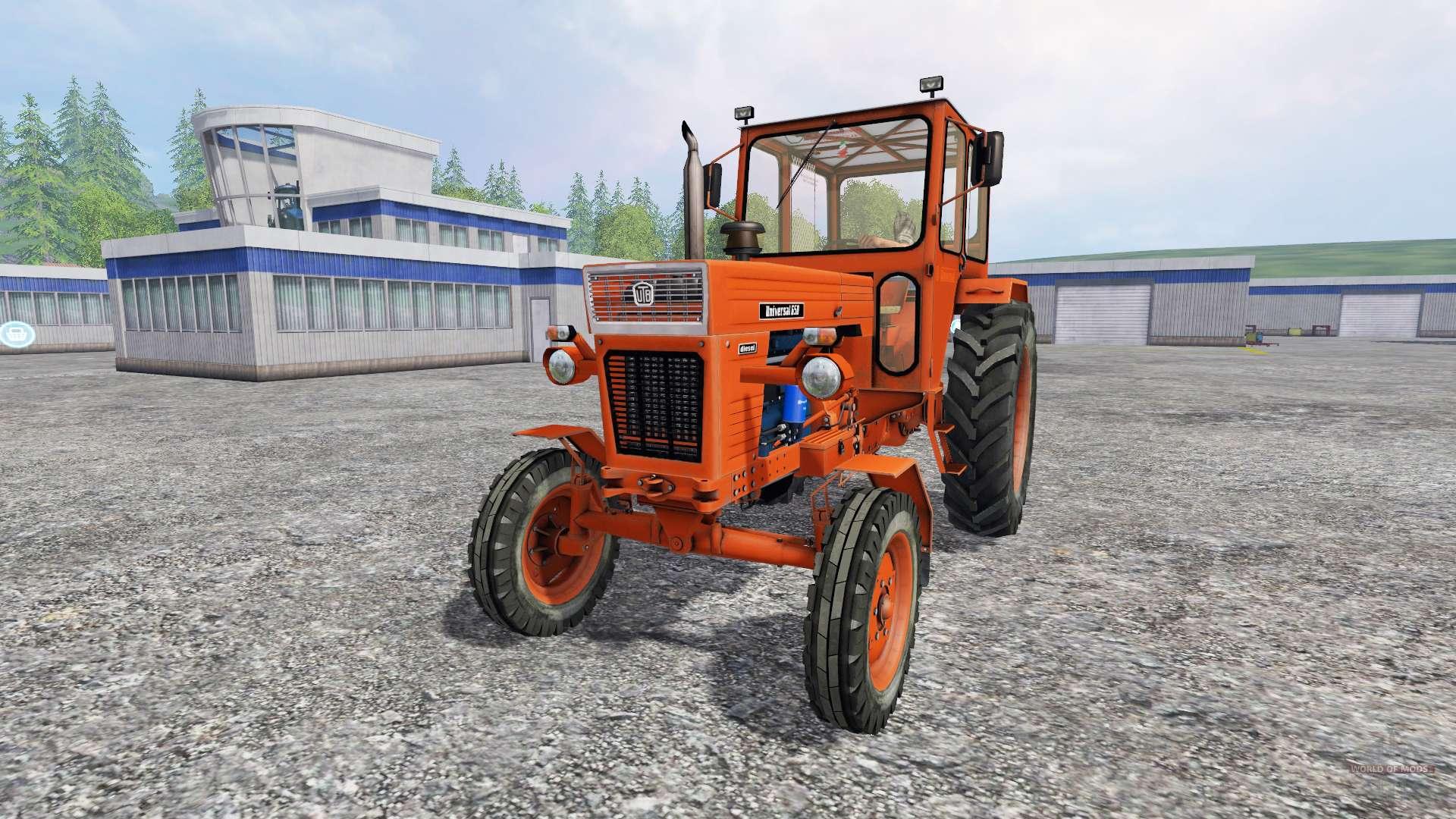 utb universal 650 for farming simulator 2015 rh worldofmods com Universal Tractor Cab Enclosures Universal Tractor Canopy