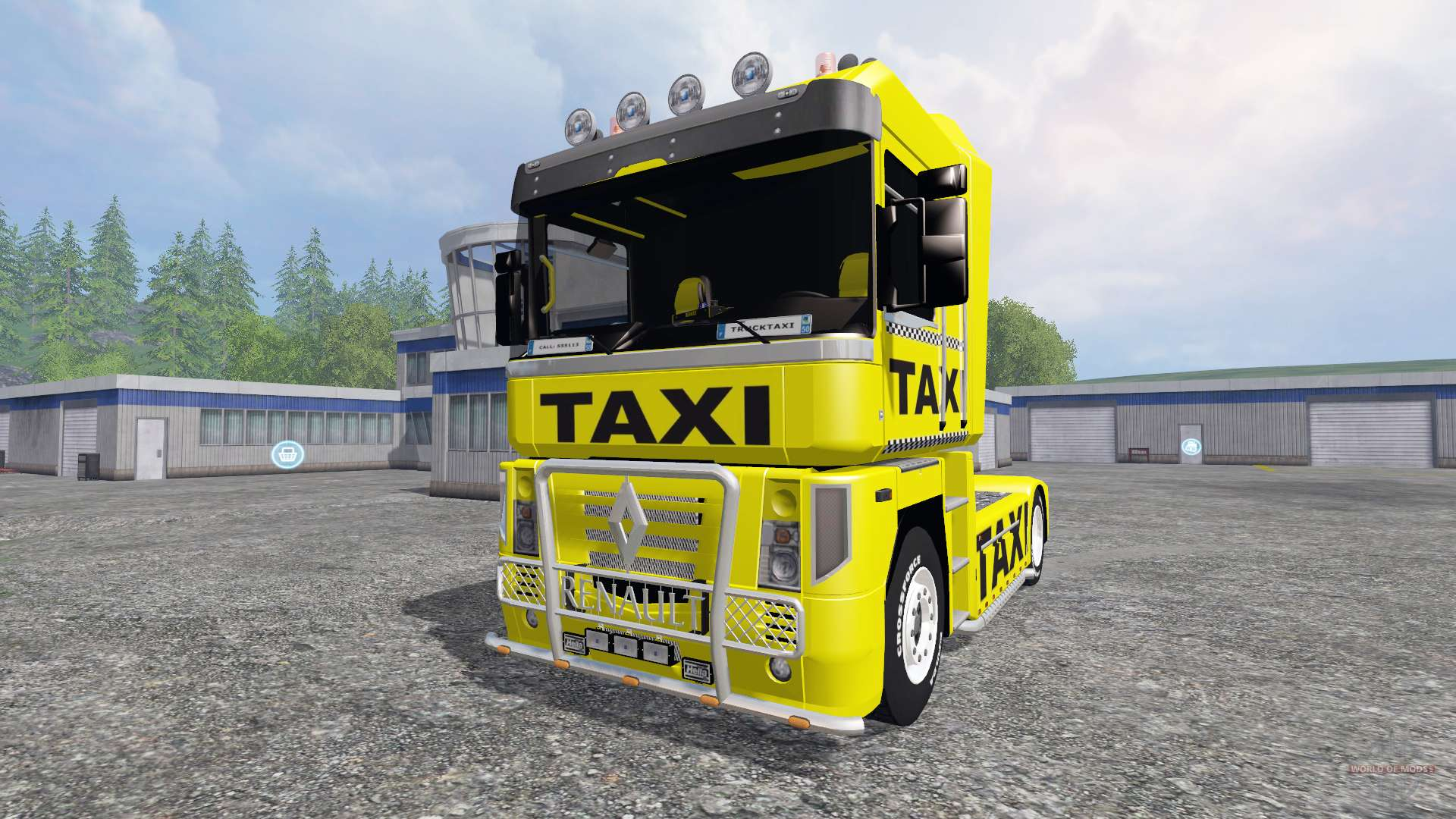 renault magnum taxi for farming simulator 2015. Black Bedroom Furniture Sets. Home Design Ideas
