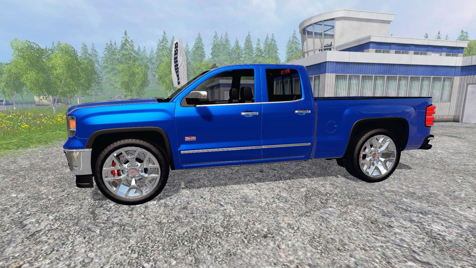 gmc sierra 1500 2014 for farming simulator 2015. Black Bedroom Furniture Sets. Home Design Ideas