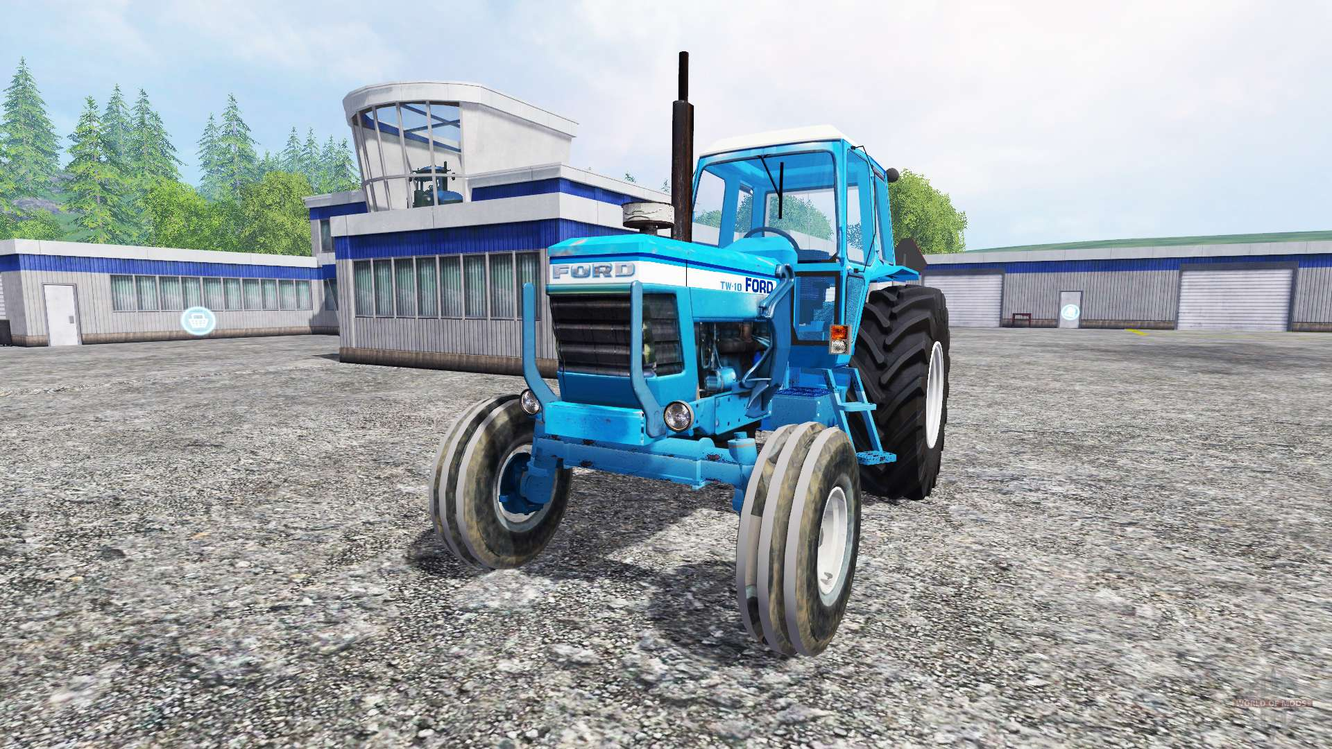 Ford Tw 35 Tractor Parts : Ford tw v for farming simulator
