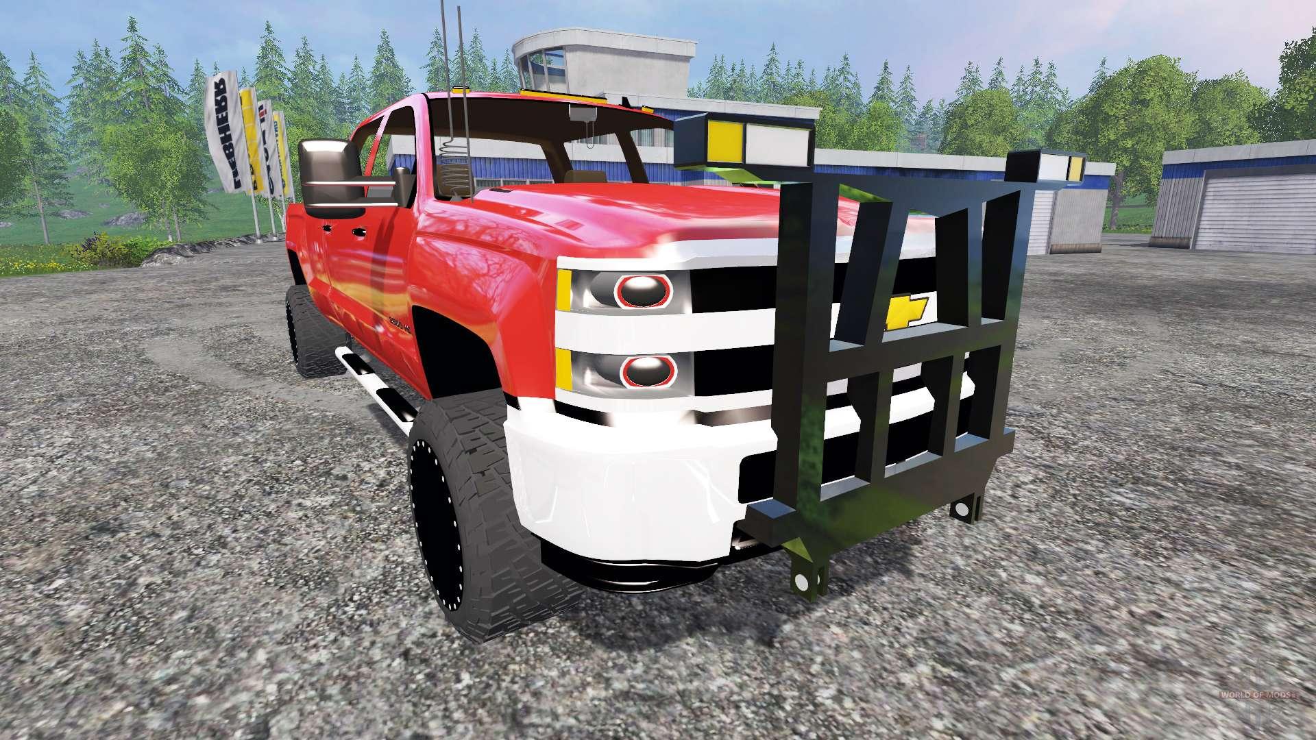 Chevrolet silverado 3500 plow truck