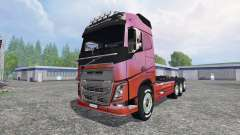 Volvo FH16 8x4 v3.0 for Farming Simulator 2015