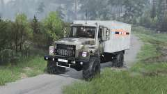 GAZ-3309 [camouflage][08.11.15] for Spin Tires