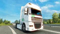 Skin PFAB on tractor DAF for Euro Truck Simulator 2