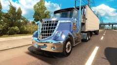 International LoneStar in traffic for American Truck Simulator