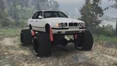 BMW M5 (E34) [bigfoot] v1.2 [16.12.15] for Spin Tires