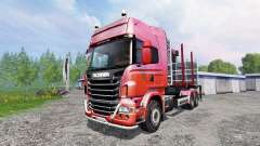 Scania R730 [forest] v1.2