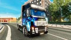Skin Star Trek in to Darkness for Volvo truck for Euro Truck Simulator 2