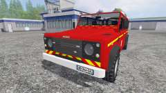 Land Rover Defender 110 for Farming Simulator 2015