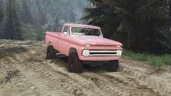 Chevrolet C30 1966 [brick red] v1.1 [16.12.15] for Spin Tires