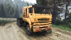 KamAZ-65226 [25.12.15] for Spin Tires