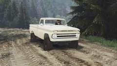 Chevrolet C30 1966 [tan] v1.1 [16.12.15] for Spin Tires