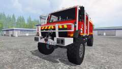 Mercedes-Benz Unimog [fire service] for Farming Simulator 2015
