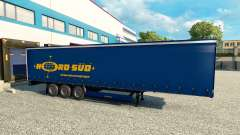 Skins for trailers v2.0 for Euro Truck Simulator 2