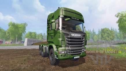 Scania R730 [euro farm] v1.5 for Farming Simulator 2015