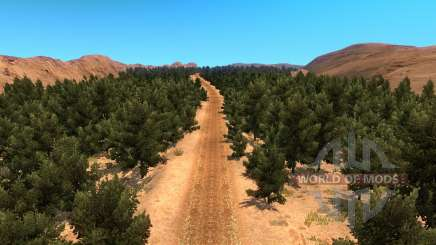 Map off-road for American Truck Simulator