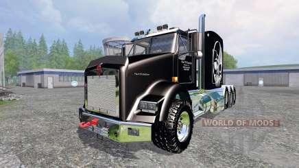 Kenworth T800 [TriAxle Sleeper] for Farming Simulator 2015