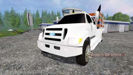 Ford F-650 [stakebed] for Farming Simulator 2015