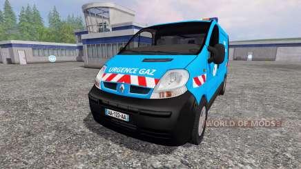 Renault Trafic [urgence gaz] for Farming Simulator 2015