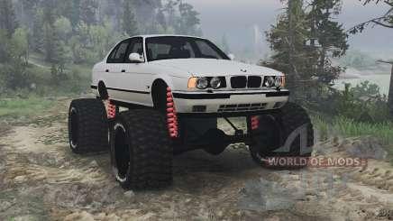 BMW M5 (E34) [bigfoot] v1.2 [16.12.15] for Spin Tires