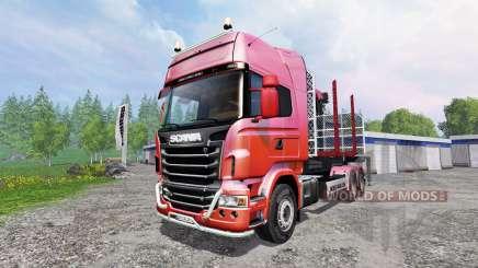 Scania R730 [forest] v1.2 for Farming Simulator 2015