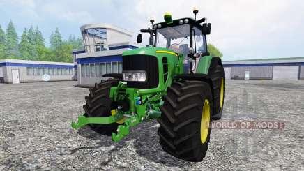 John Deere 7530 Premium v1.2 for Farming Simulator 2015