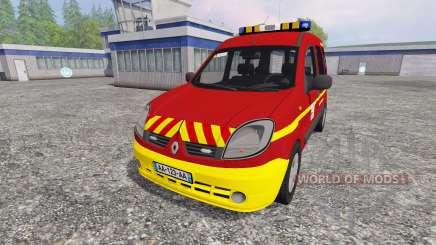 Renault Kangoo [fire service] for Farming Simulator 2015