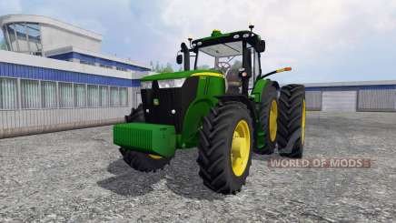 John Deere 7310R [USA] v1.5 for Farming Simulator 2015
