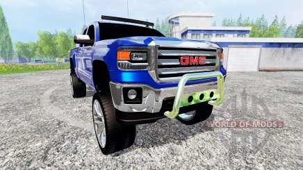 GMC Sierra 1500 2014 [lifted] for Farming Simulator 2015