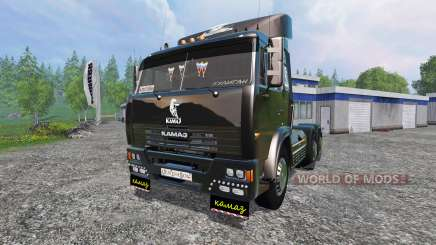KamAZ-54115 v2.0 for Farming Simulator 2015