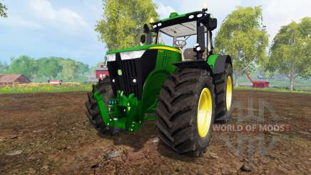 John Deere 7310R v3.5 for Farming Simulator 2015