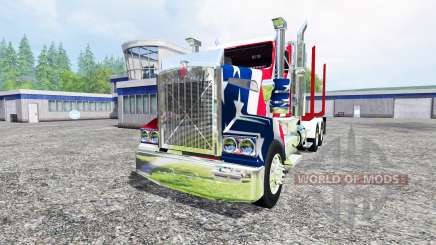 Kenworth T908 [USA] for Farming Simulator 2015