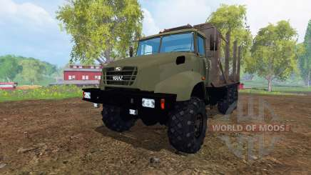 The KrAZ B18.1 [timber] for Farming Simulator 2015