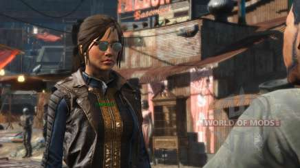 Azar Ponytail Hairstyles for Fallout 4