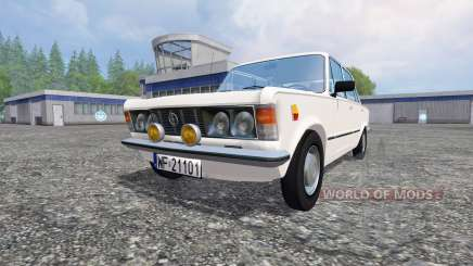 Fiat 125p for Farming Simulator 2015