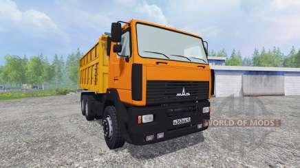 MAZ-6501 [trailer] for Farming Simulator 2015