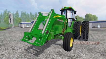 John Deere 4960 2WD FL for Farming Simulator 2015