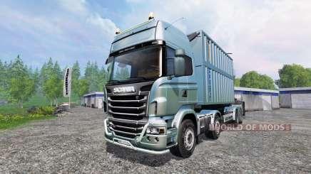 Scania R730 [bruks] v1.1.1 for Farming Simulator 2015