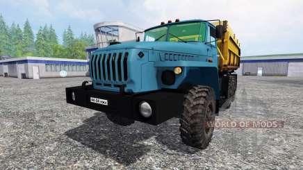 Ural-4320 Gazprom for Farming Simulator 2015