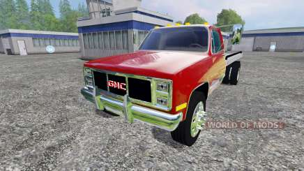 GMC 3500 1986 for Farming Simulator 2015